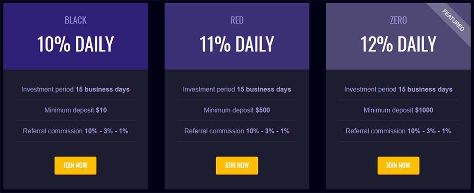Инвестиционные планы PokerDAPP