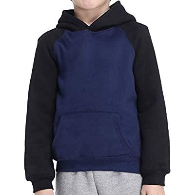 70% OFF  Boys Hoodie Fleece Christmas Sweatshirt Girls Pullover Hood with Pockets
