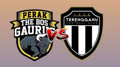Live Streaming Perak vs Terengganu Liga Super 18.6.2019