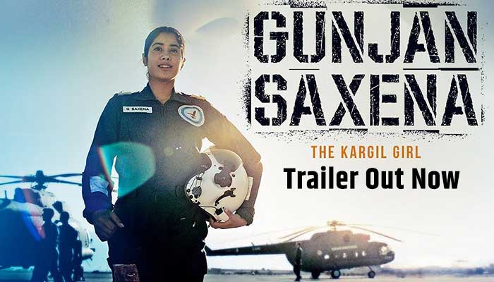 Gujan Saxena The Kargil Girl Movie Trailer Out Now, Janhvi Kapoor
