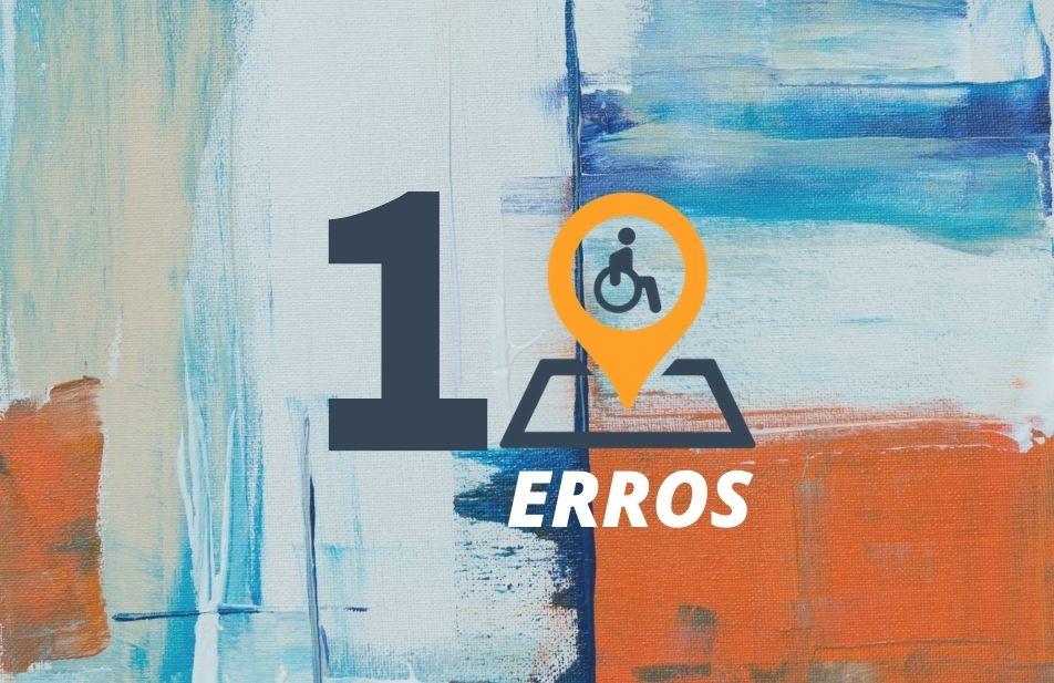 A imagem traz um fundo colorido com uma arte no número dez junto com a logomarca do território deficiente.