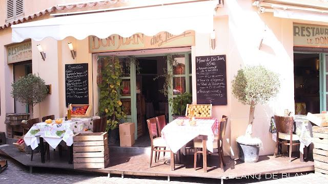 Antibes'in ravintoloita - www.blancdeblancs.fi