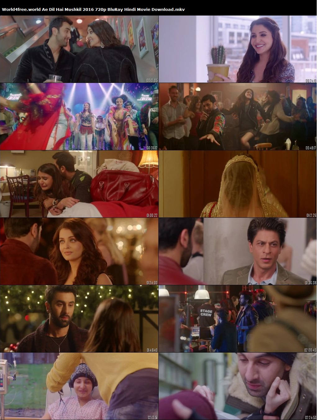 Ae Dil Hai Mushkil 2016 720p  Hindi Movie Download Dualmovies