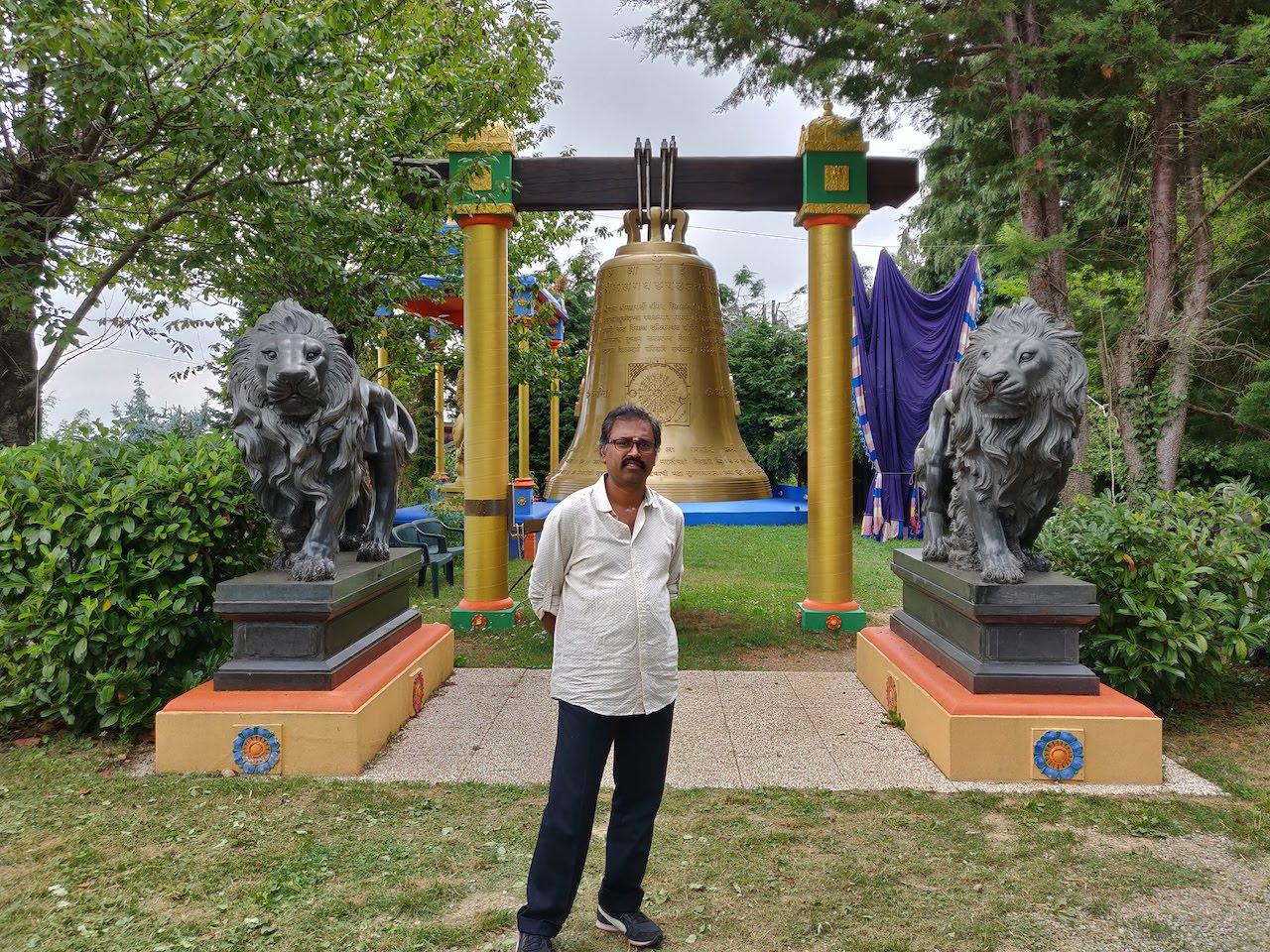 Gitananda Ashram in Altare, Italy