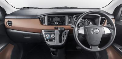 Toyota Calya Mini MPV dashbord & stearing image