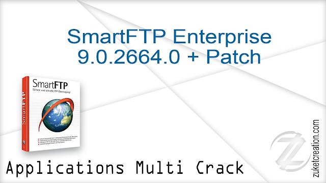 SmartFTP Enterprise 9.0.2664.0 + Patch  |  55 MB