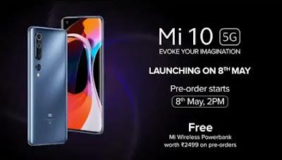 Xiaomi Mi 10 launch in India