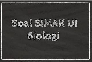 Soal Simak UI 2014 Biologi (1)