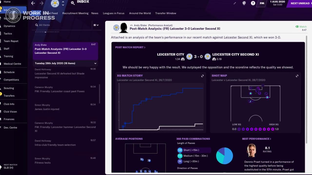Football Manager 2021 | New Features | Post Match Summary | FM21