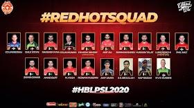 Islamabad United  PSL Team Squad 2020 | PSL 2020
