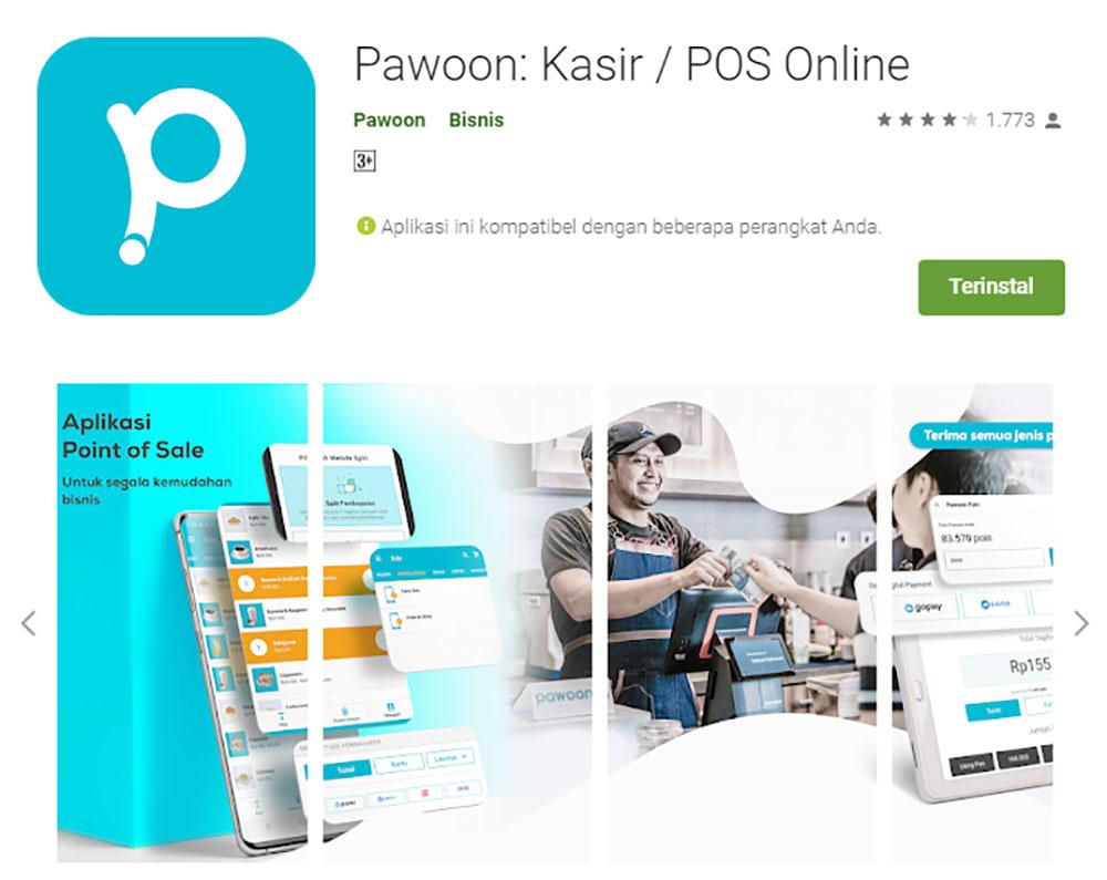 Rekomendasi Sistem Aplikasi Kasir/POS (Point of Sale) - Pawoon