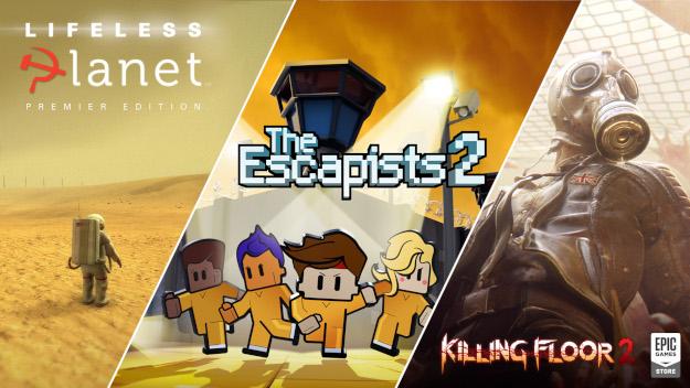 Τα δωρεάν παιχνίδια της εβδομάδας από την Epic Games.