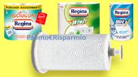 Logo Regina ''Vinci ogni giorno 100 portarotoli Guzzini''