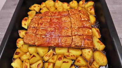 Kako Ispeći Carsko Meso s Krumpirima | Roasted Pork Belly with Potatoes