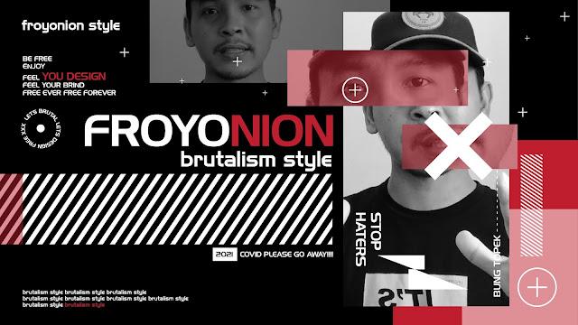 Tutorial Cara Membuat Froyonion Style (Brutalism Style) dengan Adobe Illustrator