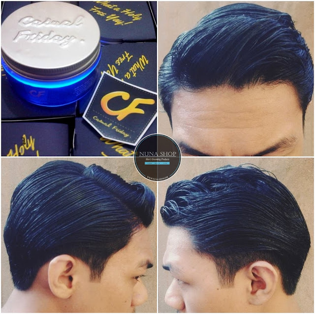 Review Hasil Pemakaian Pomade BEAUX Casual Friday Water Based