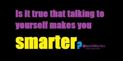 Is it true that talking to yourself makes you smarter? | Healthbiztips
