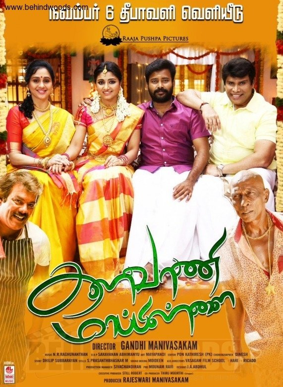 Kalavani Mappillai 2018 Hindi 720p HDRip – 950 MB