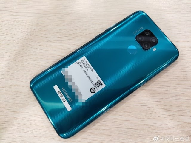 Huawei nova 5i Pro real machine photo exposure: the back cover is similar to Mate 20