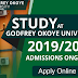 GOUNI Post-UTME, Direct Entry & Transfer Admission Forms 2019/2020