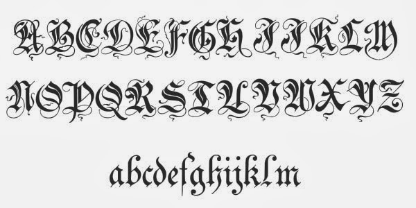 Tattoo Gaelic Font Creater: Celtic Lettering Styles For Tattoos, Calligraphy Tattoo