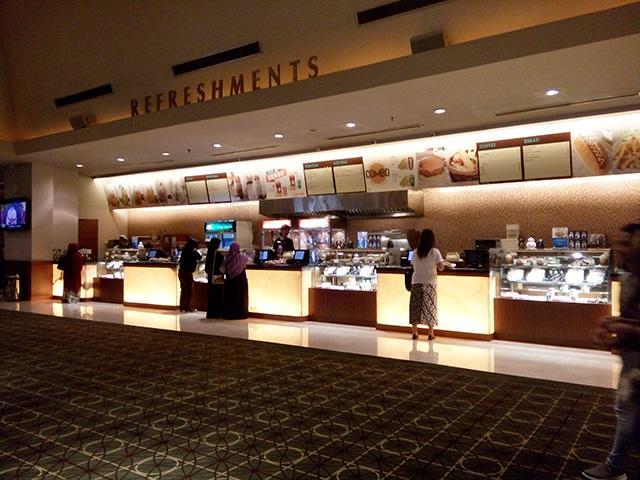 Cinema XXI, Mega Bekasi Hypermall refreshment