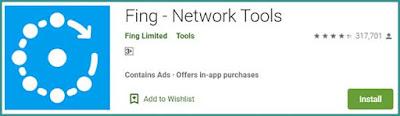 تطبيق Fing لمعرفة المتصلين بالواي فاي