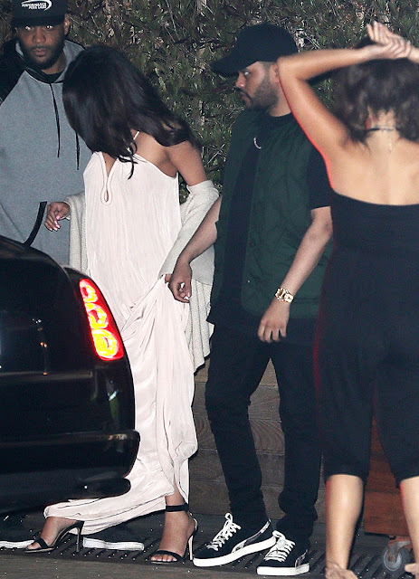 Selena Gomez birthday Celebration with Weeknd dinner date