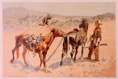 frederick remington prints