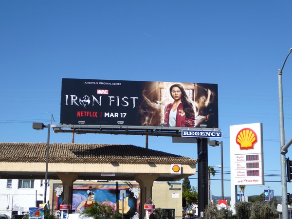 Iron Fist season 1 billboard
