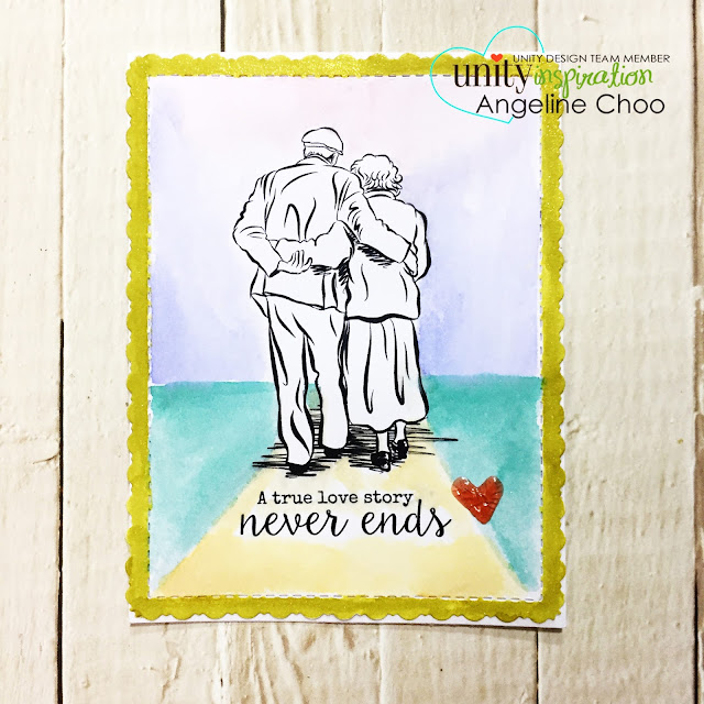 ScrappyScrappy: [NEW VIDEO] February Unity Stamp Blog Hop #scrappyscrappy #unitystampco #card #cardmaking #papercraft #craft #crafting #stamp #stamping #quicktipvideo #youtube #spectrumnoir #sparklepen #photoframe #oldcouple #tonicstudios #nuvojeweldrop #timholtz #distressink #watercolor #katscrappiness