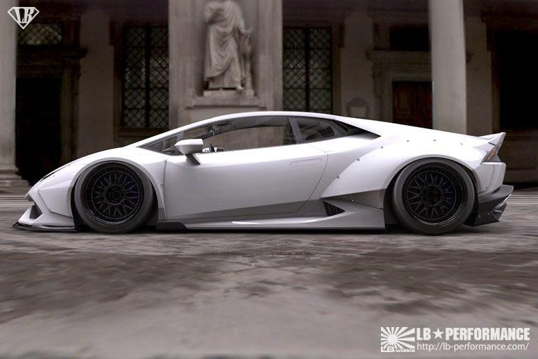 Latest Sports Car Wallpaper Liberty Walk Shows Off Wild Lamborghini Huracan Wide Body