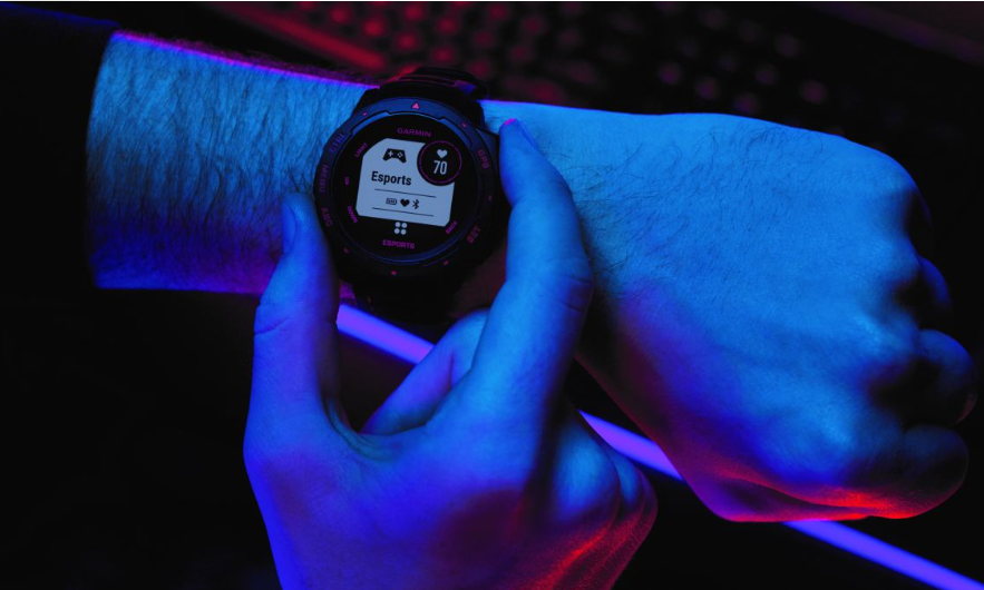 Garmin introduces e-sports smartwatch that tracks heart rate and stress while gaming