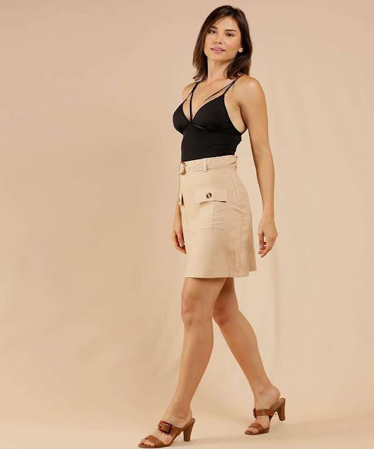 Moda jovem: Body Strappy Alças Finas Lucitex