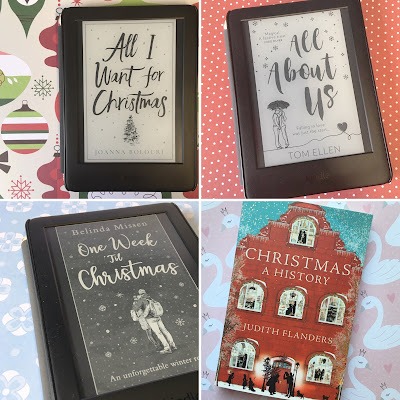 All I Want for Christmas (Joanna Bolouri) All About Us (Tom Ellen) One Week 'Til Christmas (Belinda Missen) Christmas: A History (Judith Flanders)
