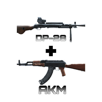 Best gun/weapon combos in PUBG Mobile