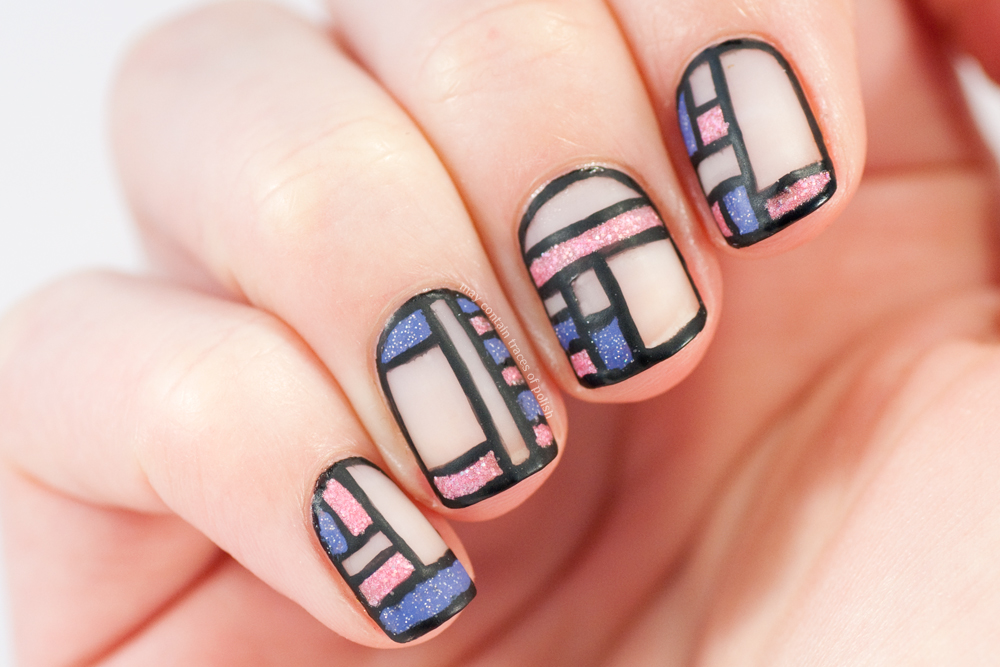 Line Art Nails : Great nail art ideas pink and lilac may contain traces of