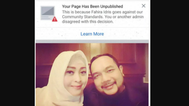 Fanpage FB Fahira Idris Kena Suspend, Unggah Laskar FP1 Tewas