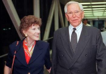 Robert Schuller y esposa