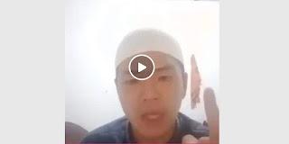 Vidio Pria Bernama Muhamad Umar Maki dan Ancam Penggal Kepala Polisi