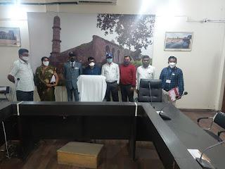कलेक्टर सभागृह में सशस्त्र सेना झंडा दिवस मनाया गया
