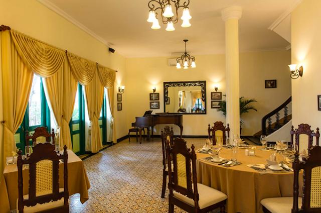 nhà hàng Indochine trung tâm quận 3 của diễn viên Kim Thư