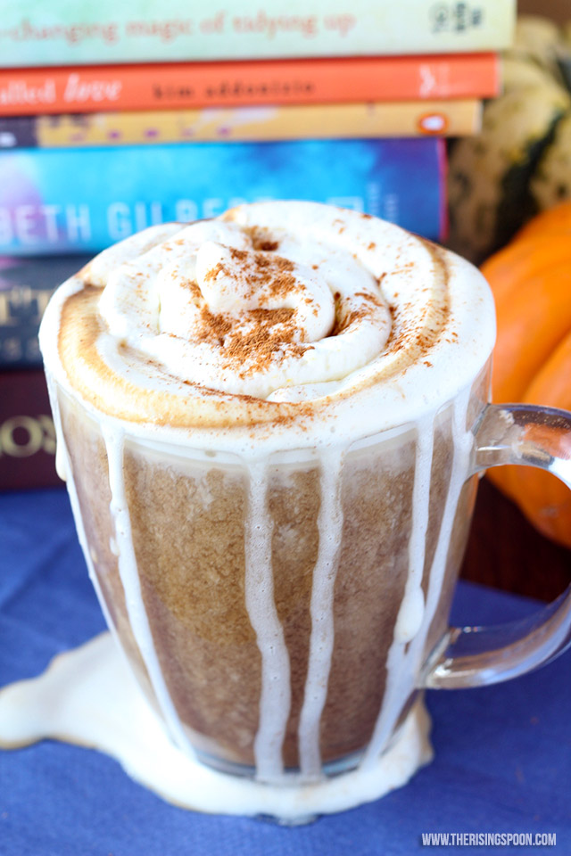 Homemade Pumpkin Spice Latte (Vegan)