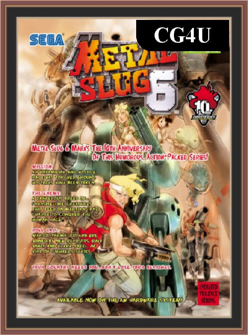 metal slug 6 neoragex