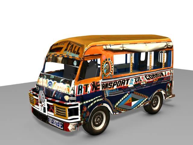 LE CAR RAPIDE UN PATRIMOINE CULTUREL SENEGALAIS : Art, artisanat, culture, tourisme, LEUKSENEGAL, Dakar, Sénégal, Afrique