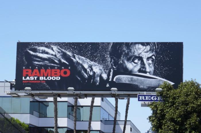 Rambo Last Blood movie billboard