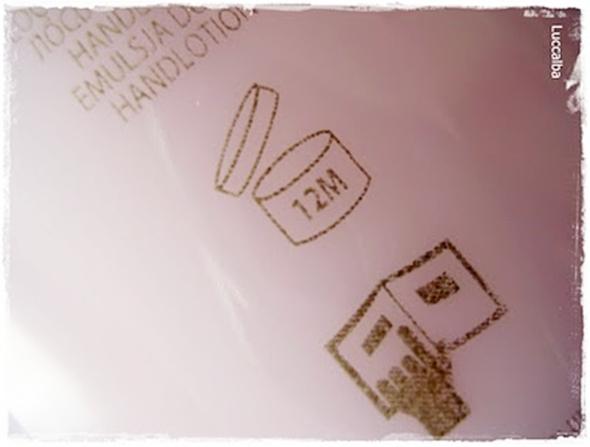 símbolo caducidad cosmetico