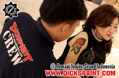 Body Painting Buetterfly Jakarta