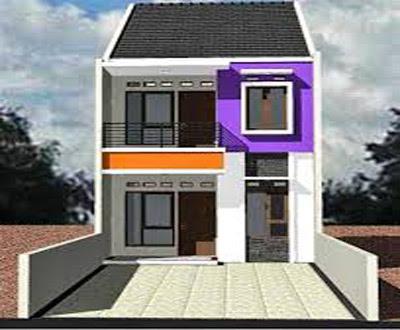 bentuk rumah 2 lantai minimalis bagus