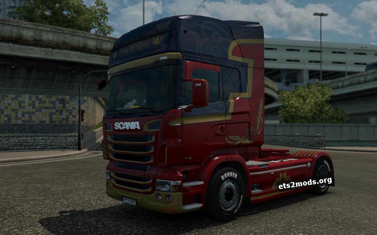 Scania RJL King of Road Skin